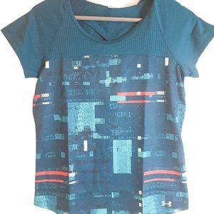 3/$20 Under Armor Heat Gear Key Hole back shirt
